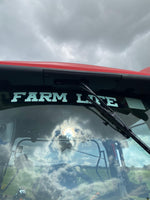 Load image into Gallery viewer, Farm Life window sticker