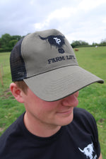 Load image into Gallery viewer, Trucker Cap (Khaki)