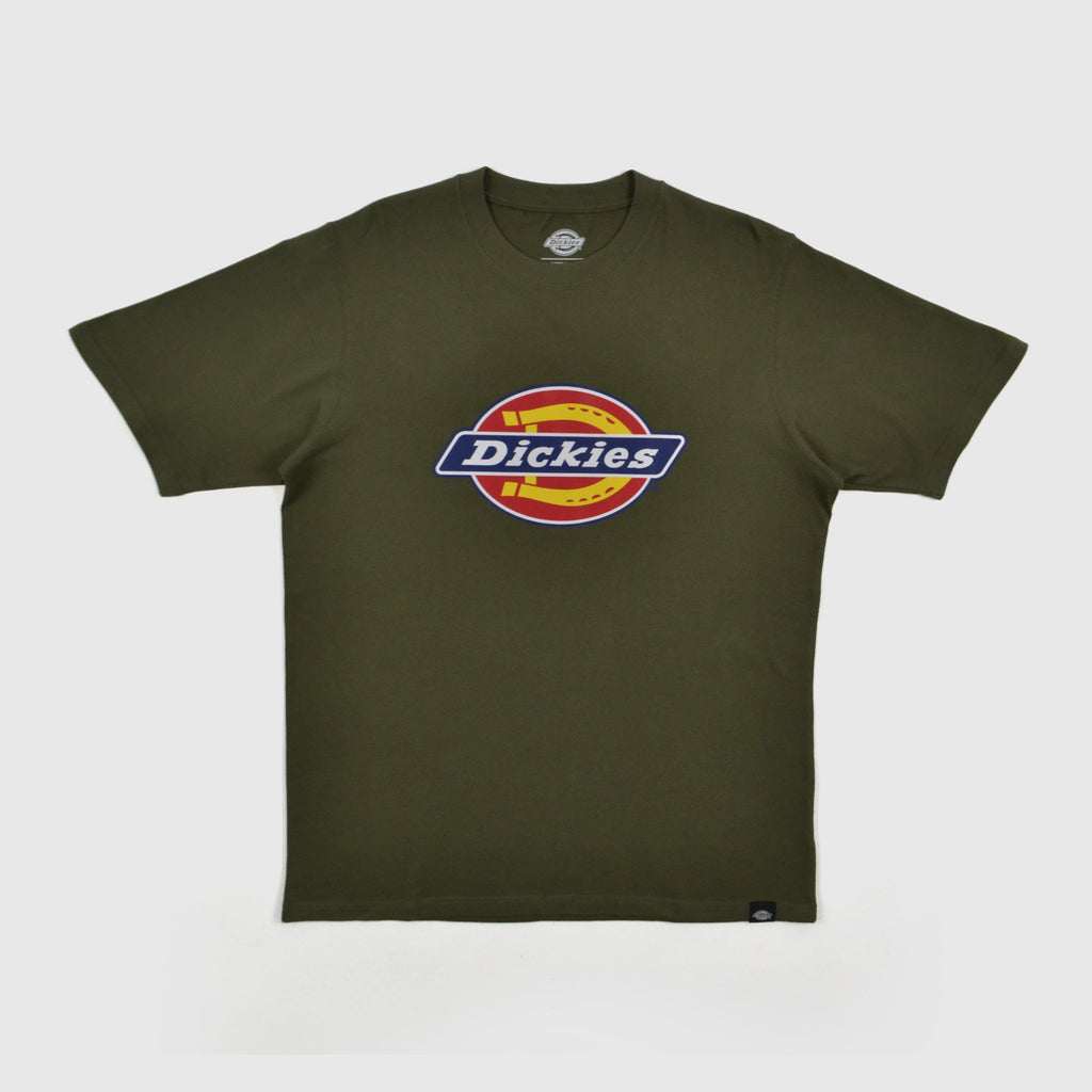 Dickies Horseshoe Tee Dark Olive Front
