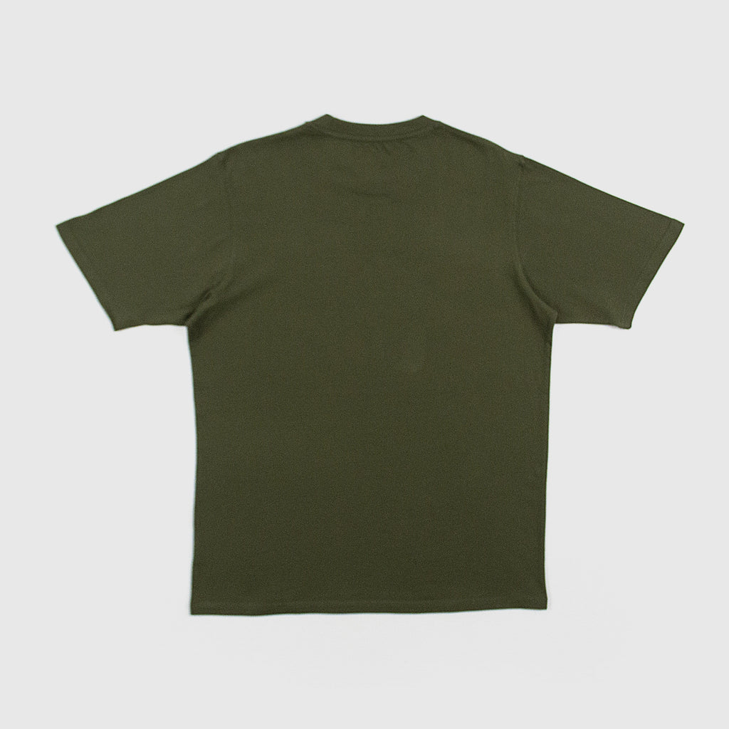 Dickies Horseshoe Tee Dark Olive Back