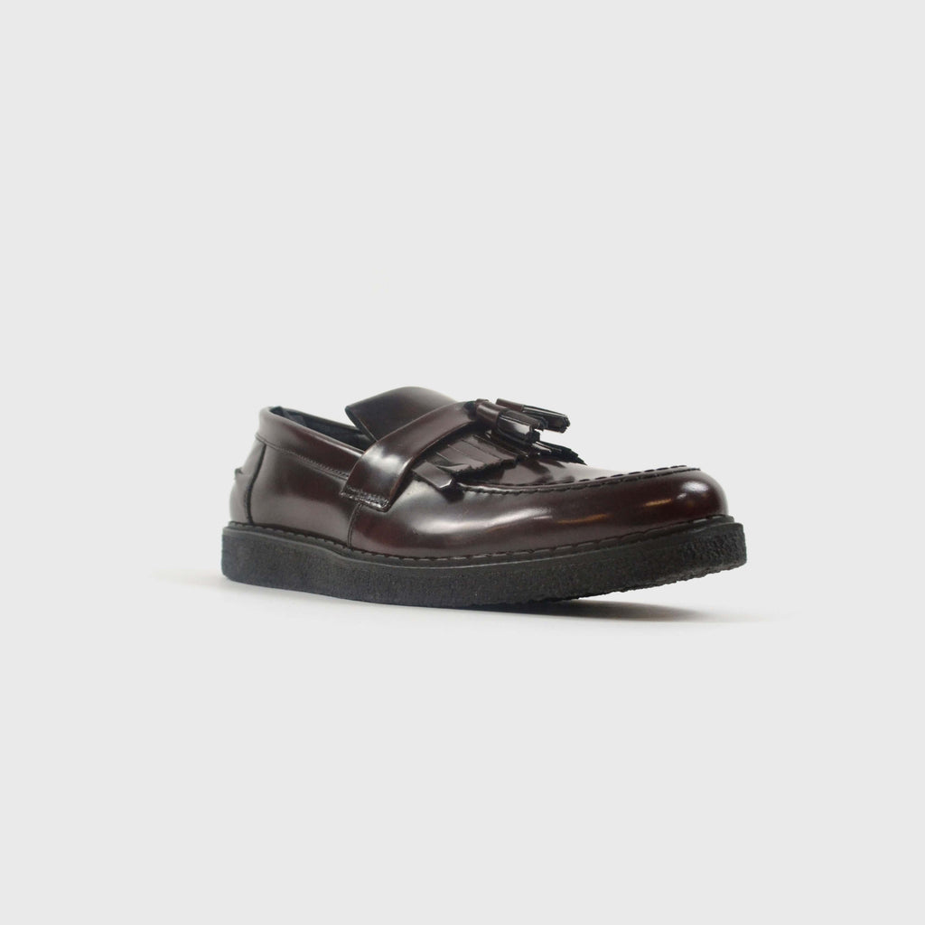Fred Perry Tassle Loafer Front Side View
