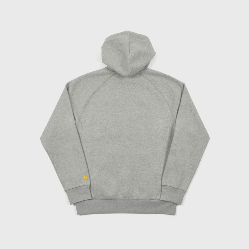 Carhartt Hooded Chase Sweat - Grey Heather Back View