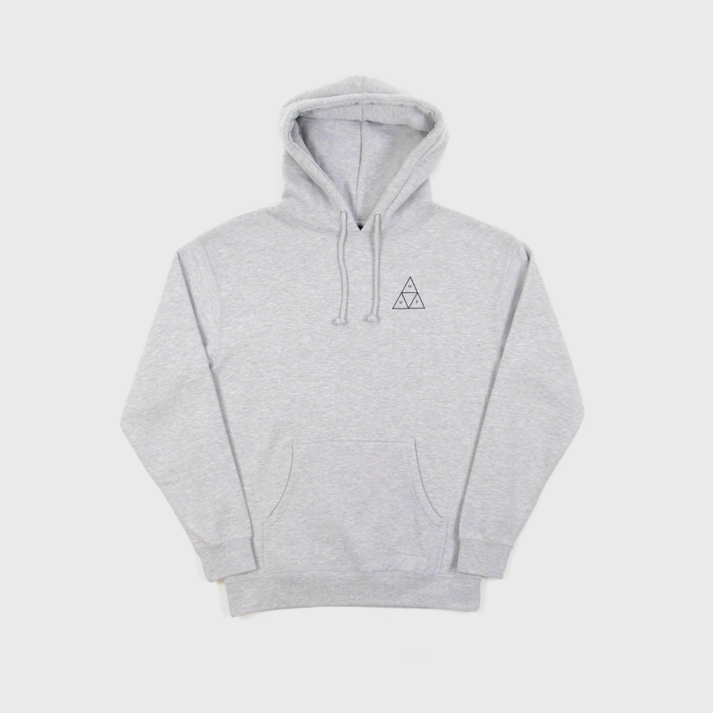 HUF Essentials TT Pullover - Ash Grey Front View