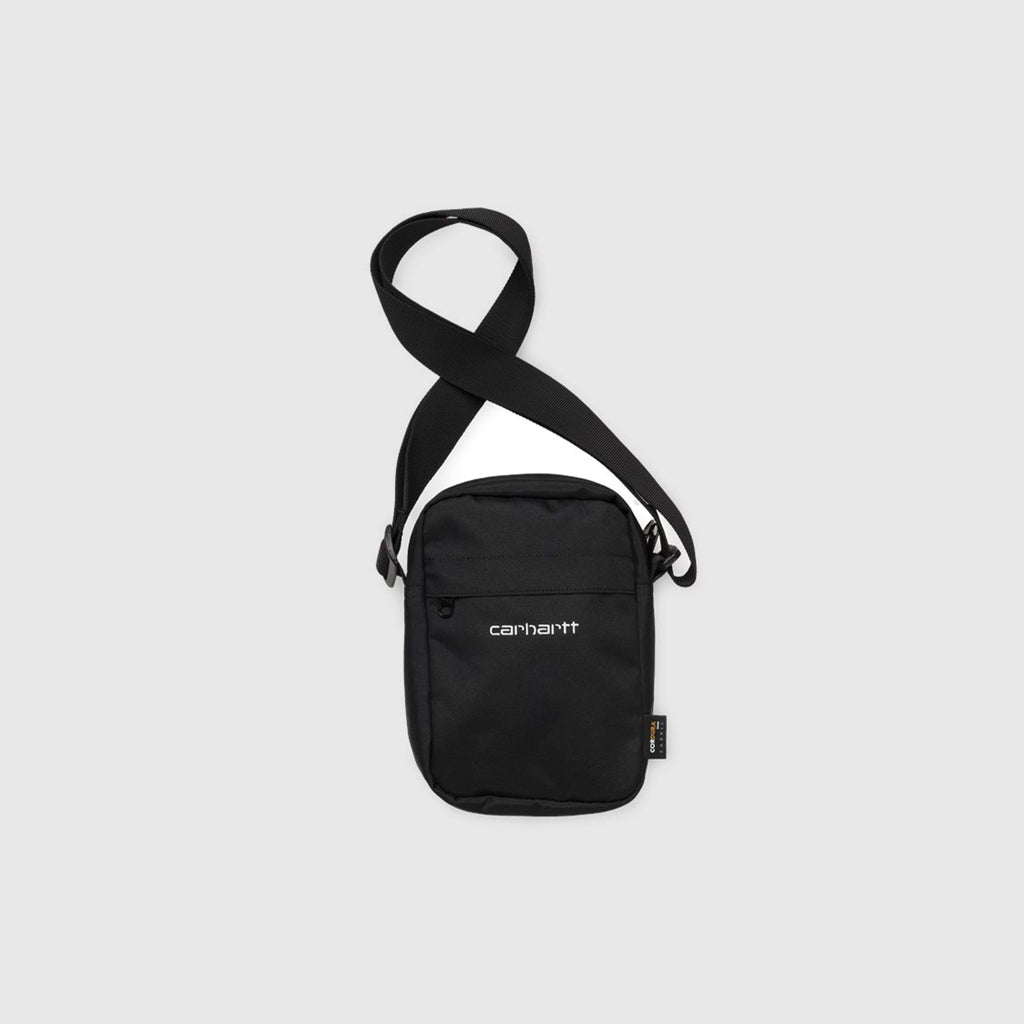 Carhartt Payton Shoulder Pouch - Black Front View