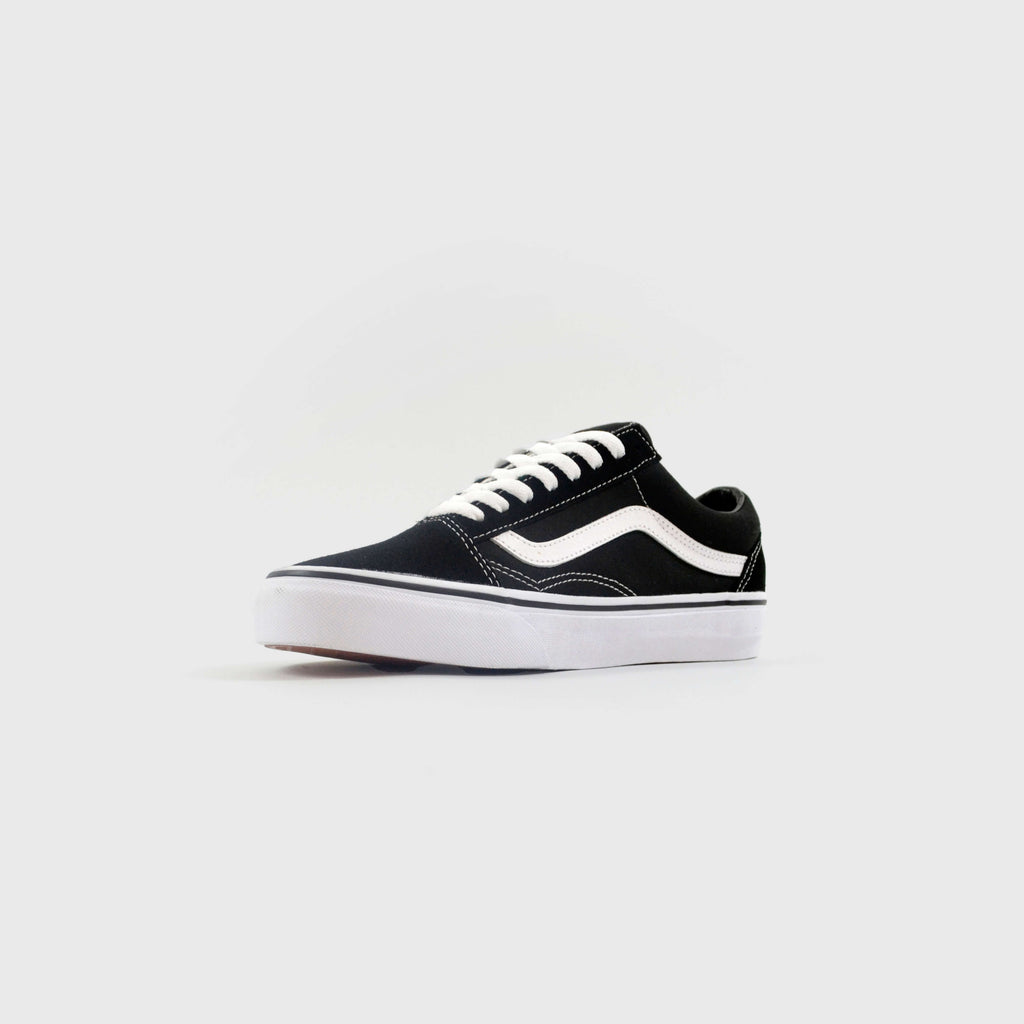 Vans Old Skool - Black / White Inner Outside View