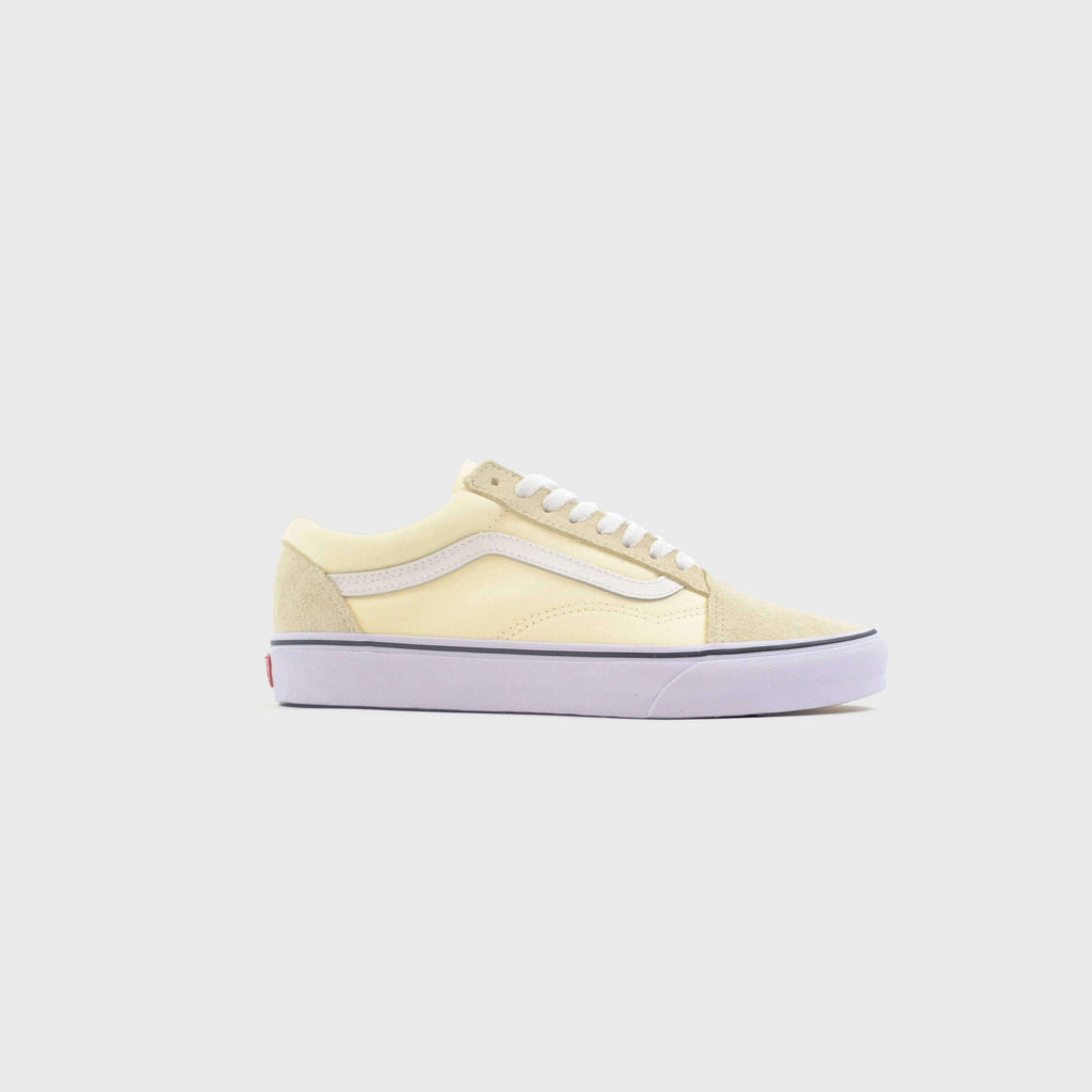 Vans Old Skool Classic - White / True White Side View