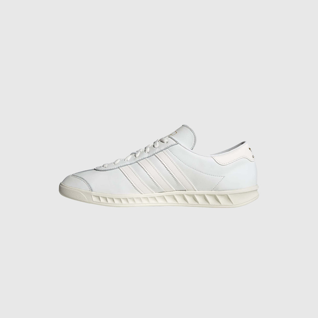 Adidas Hamburg - Core White / Off White Inside