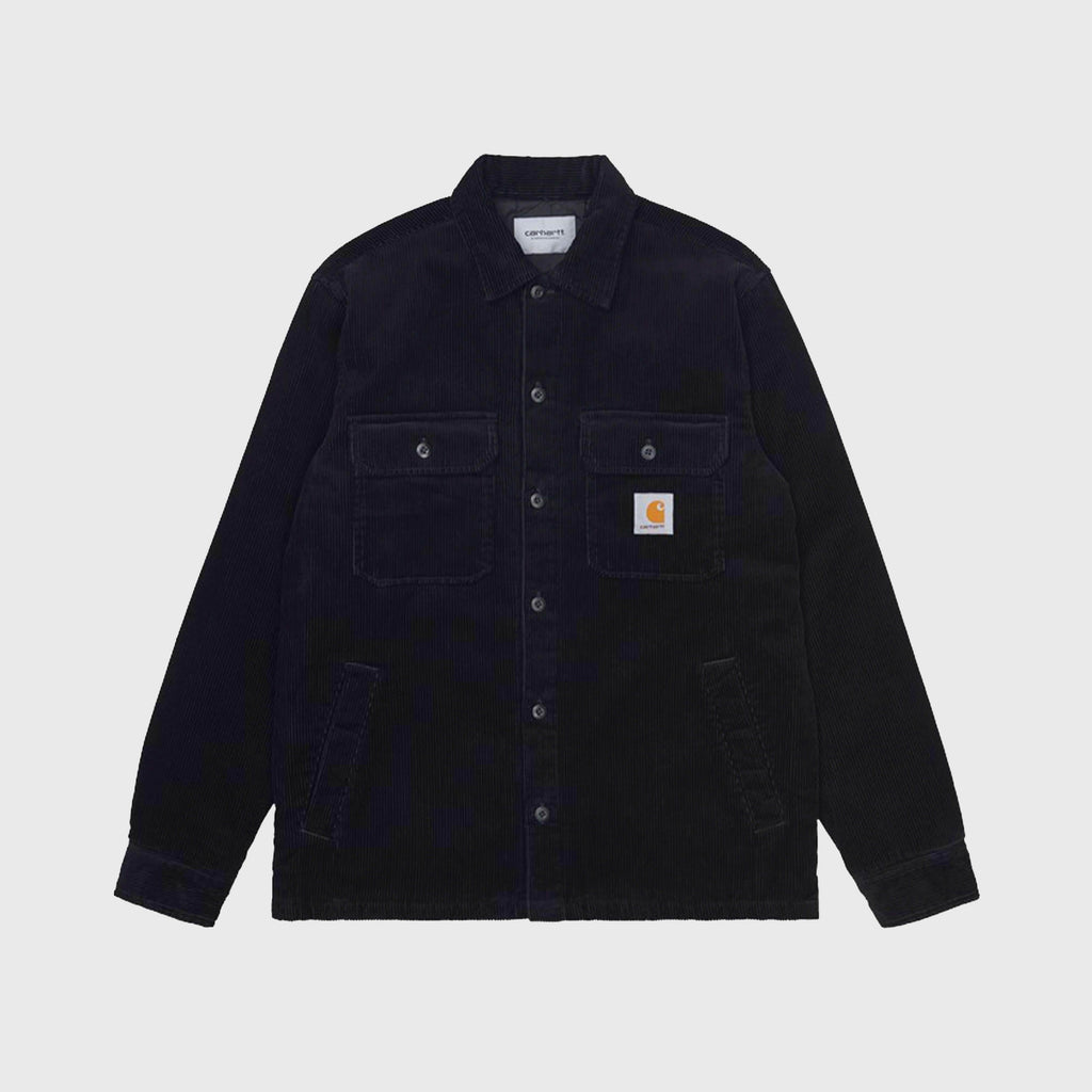 Carhartt WIP Whitsome Shirt Jacket - Black Front