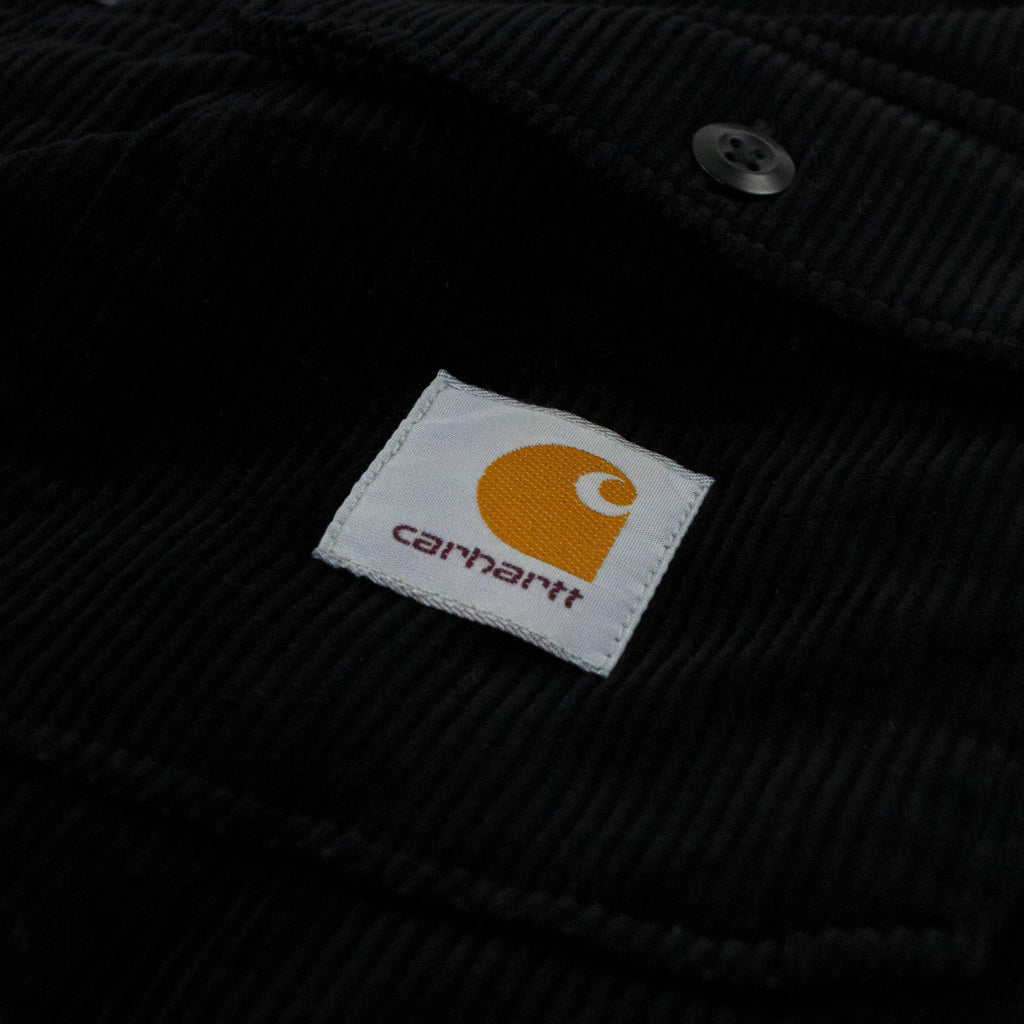 Carhartt WIP Whitsome Shirt Jacket - Black Logo