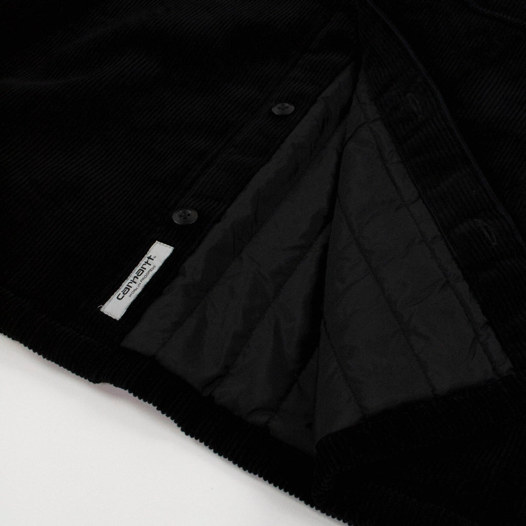 Carhartt WIP Whitsome Shirt Jacket - Black Lining