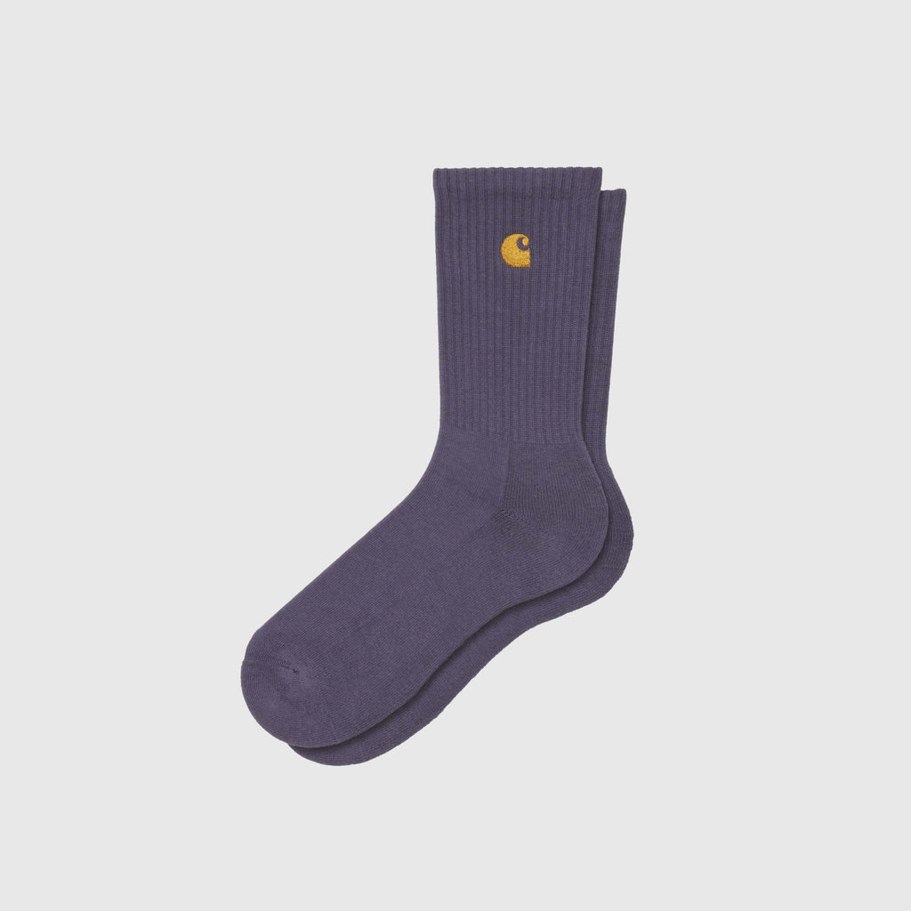 Carhartt WIP Chase Sock - Provence / Gold