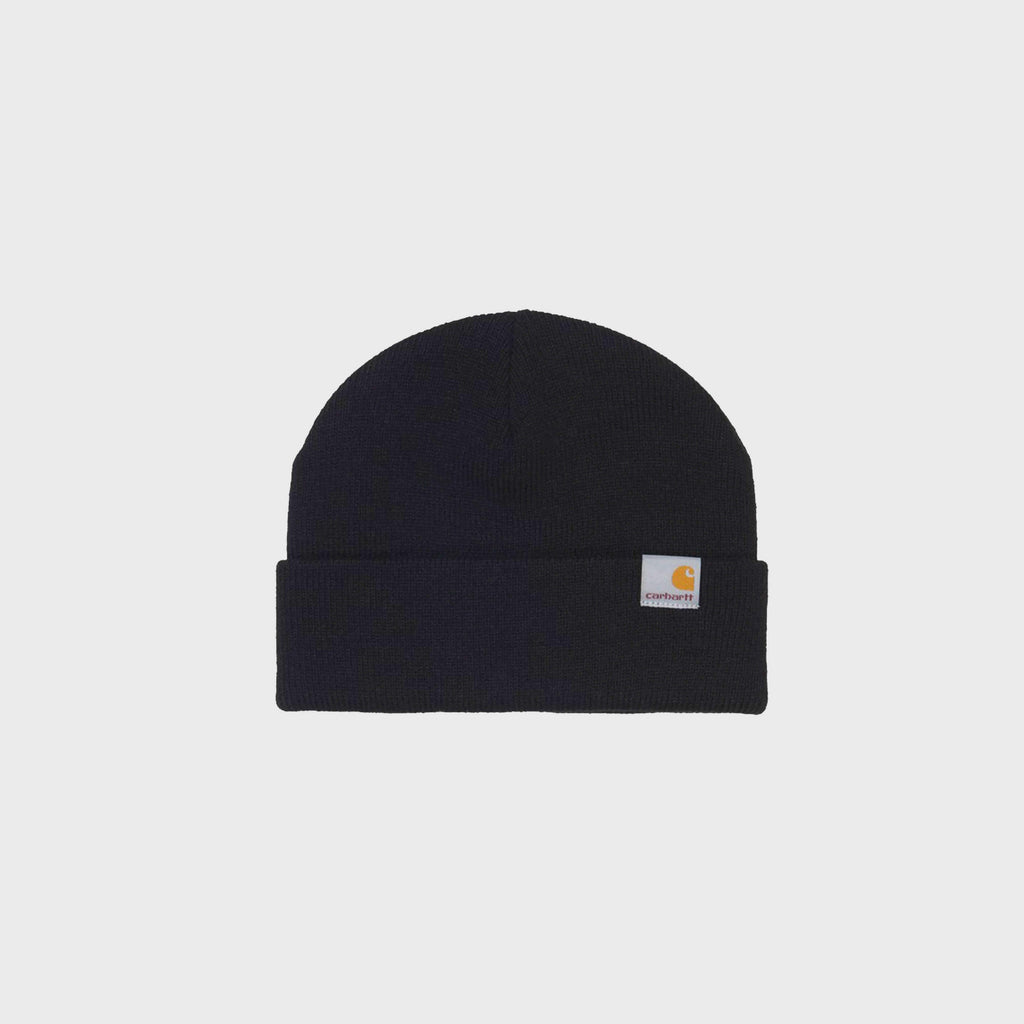 Carhartt WIP Stratus Low Beanie - Black Front