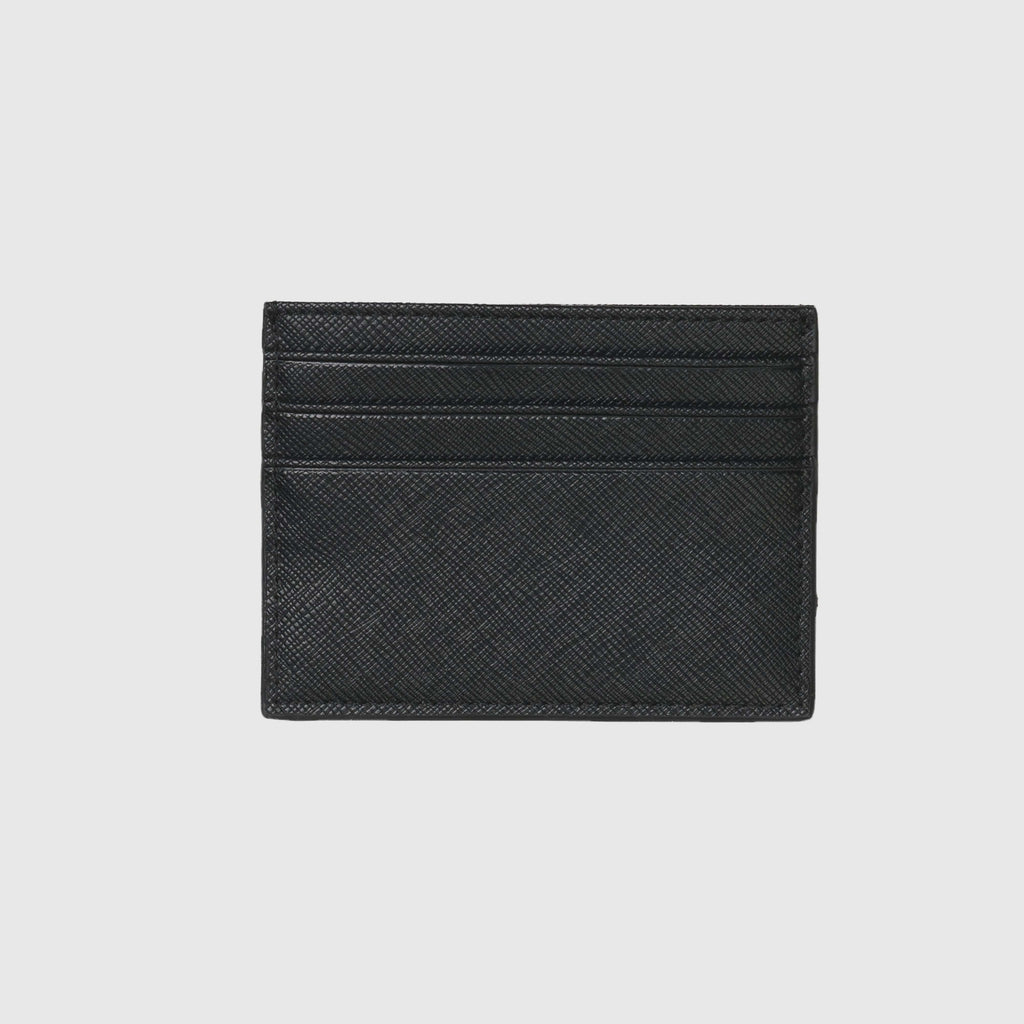 Carhartt WIP Coated Card Holder - Black / White Back
