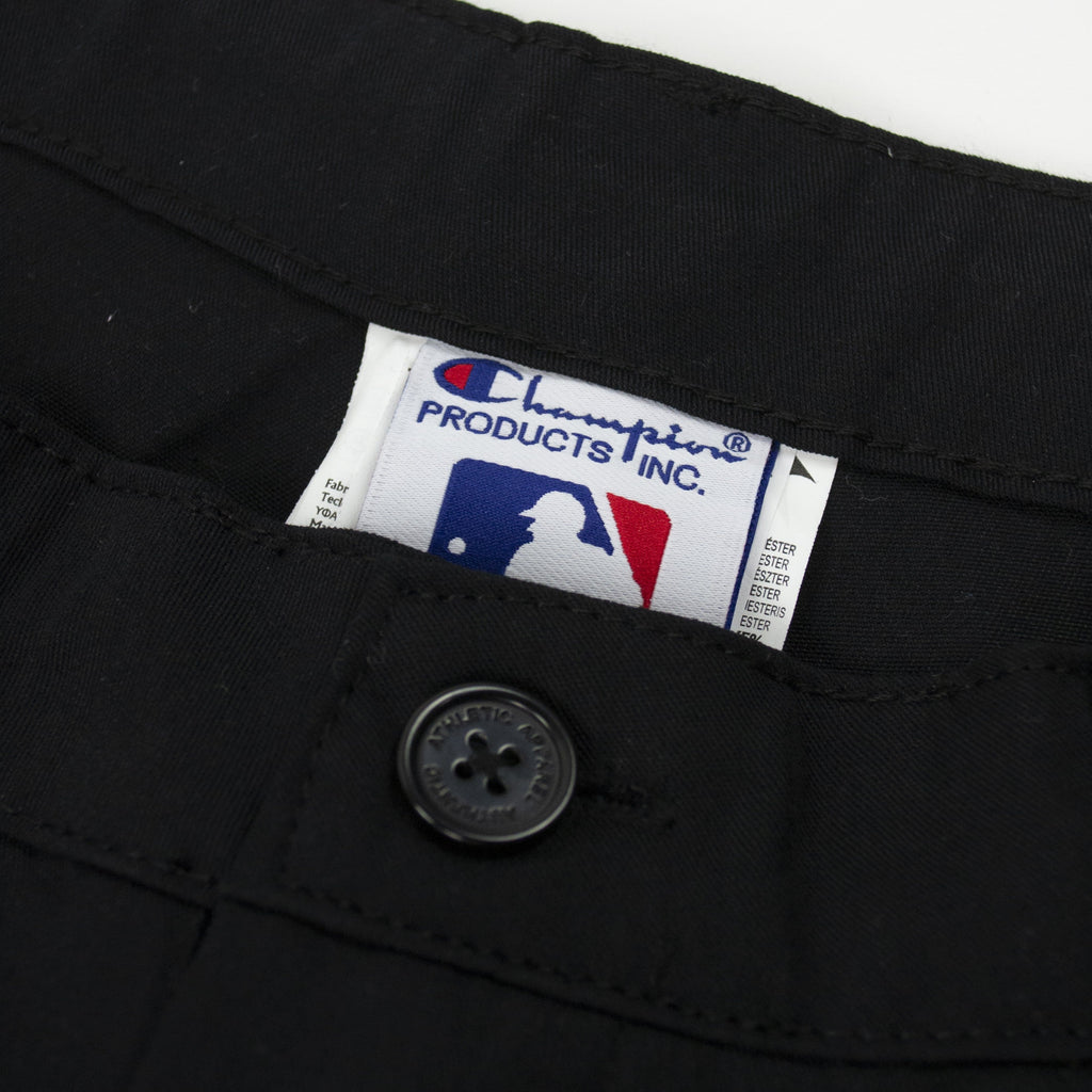 Champion Mets Pleated Pant - Black tag
