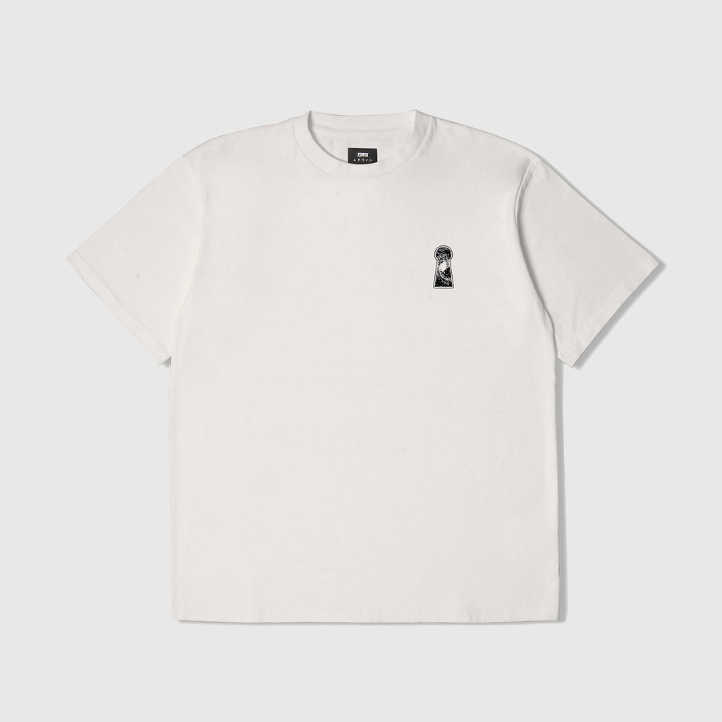 Edwin SS Doors Of Perception Tee - Whisper White Front