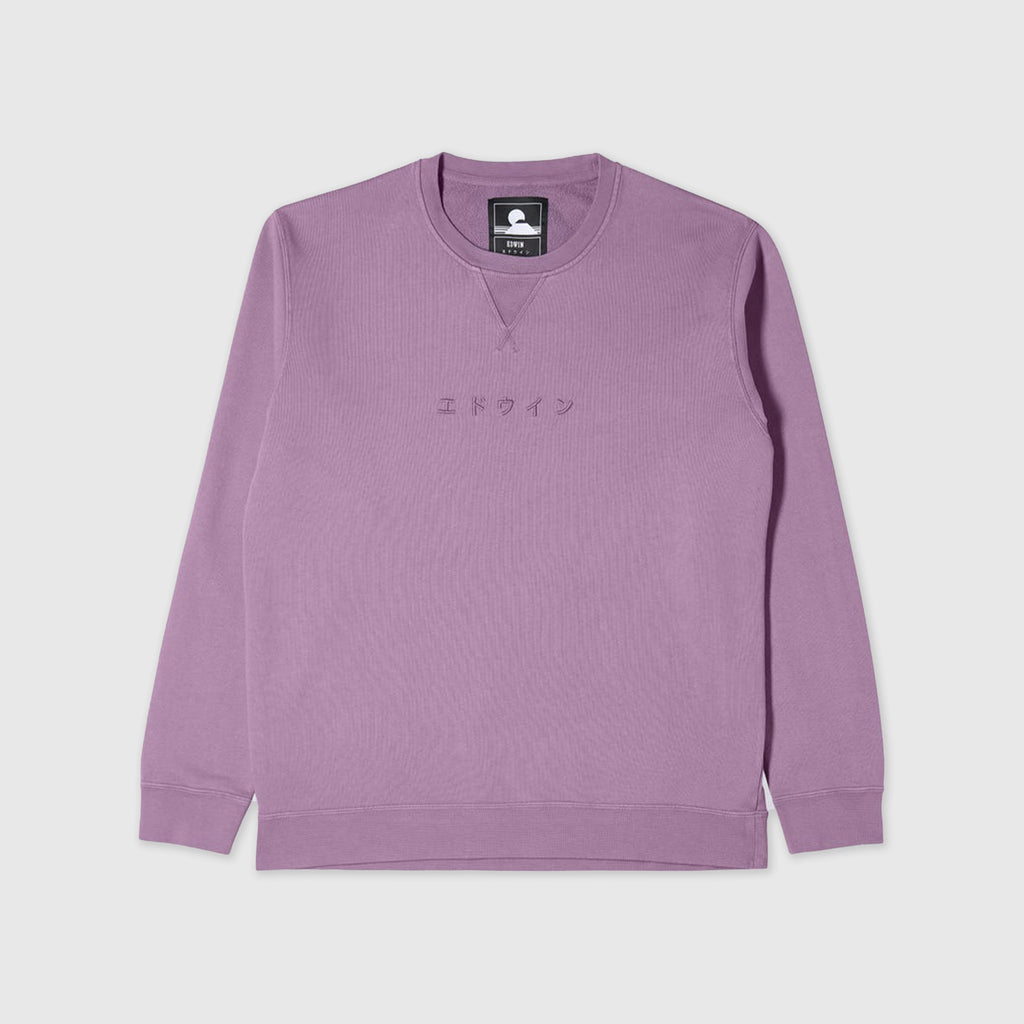 Edwin Katakana Sweat - Chinese Violet