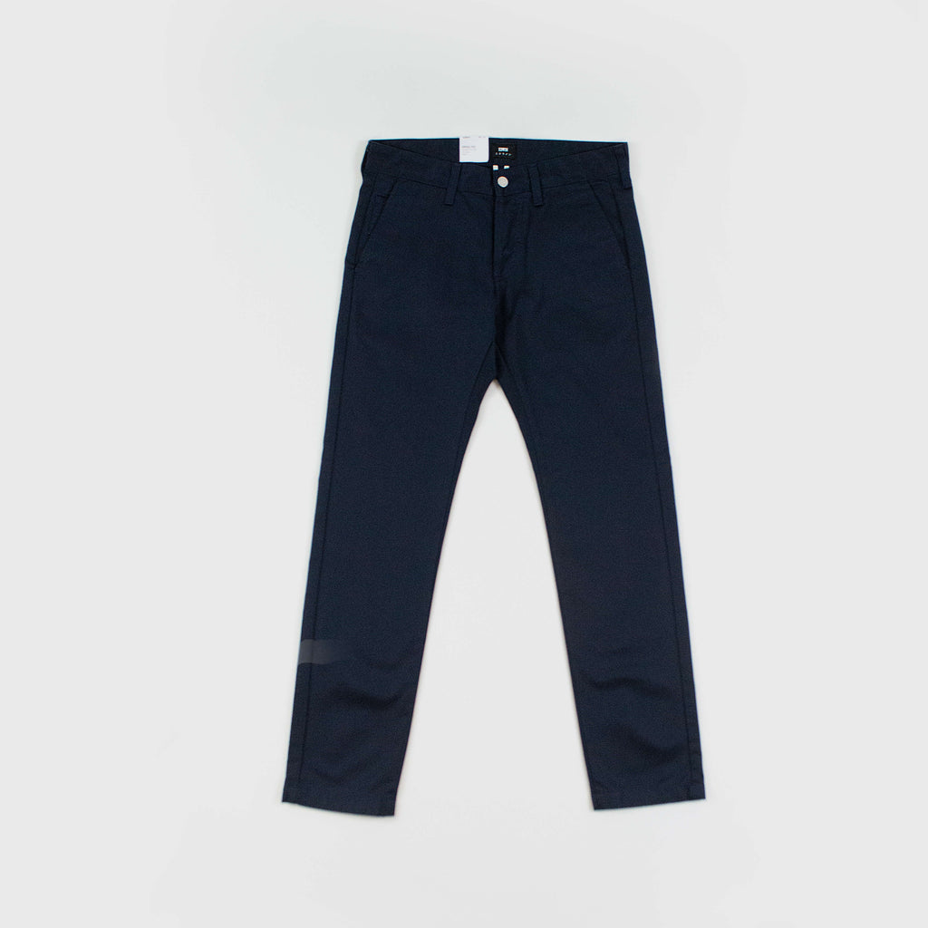 Edwin 55 Chino Compact Twill 9oz - Navy Front View