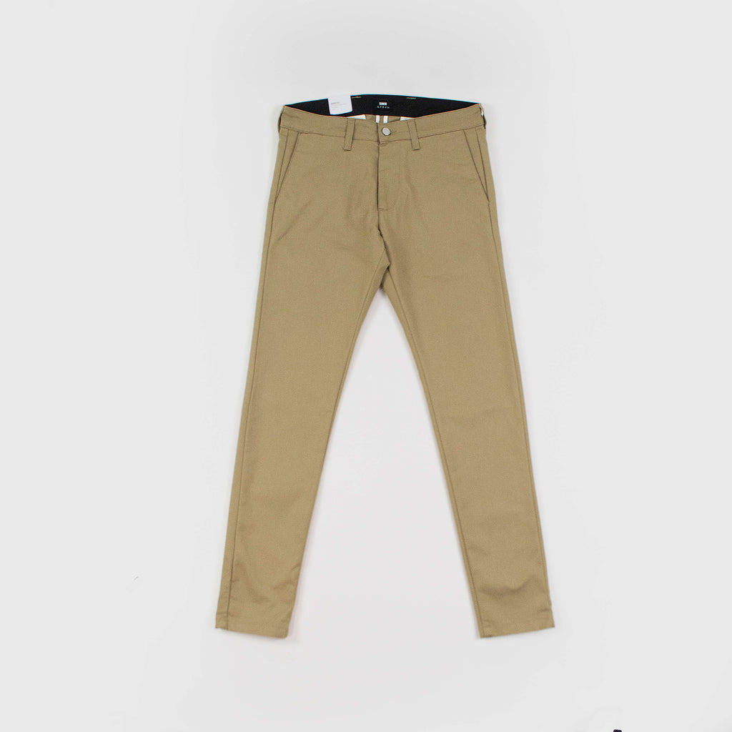 Edwin 85 Chino Cotton Twill - Stone Beige Front View