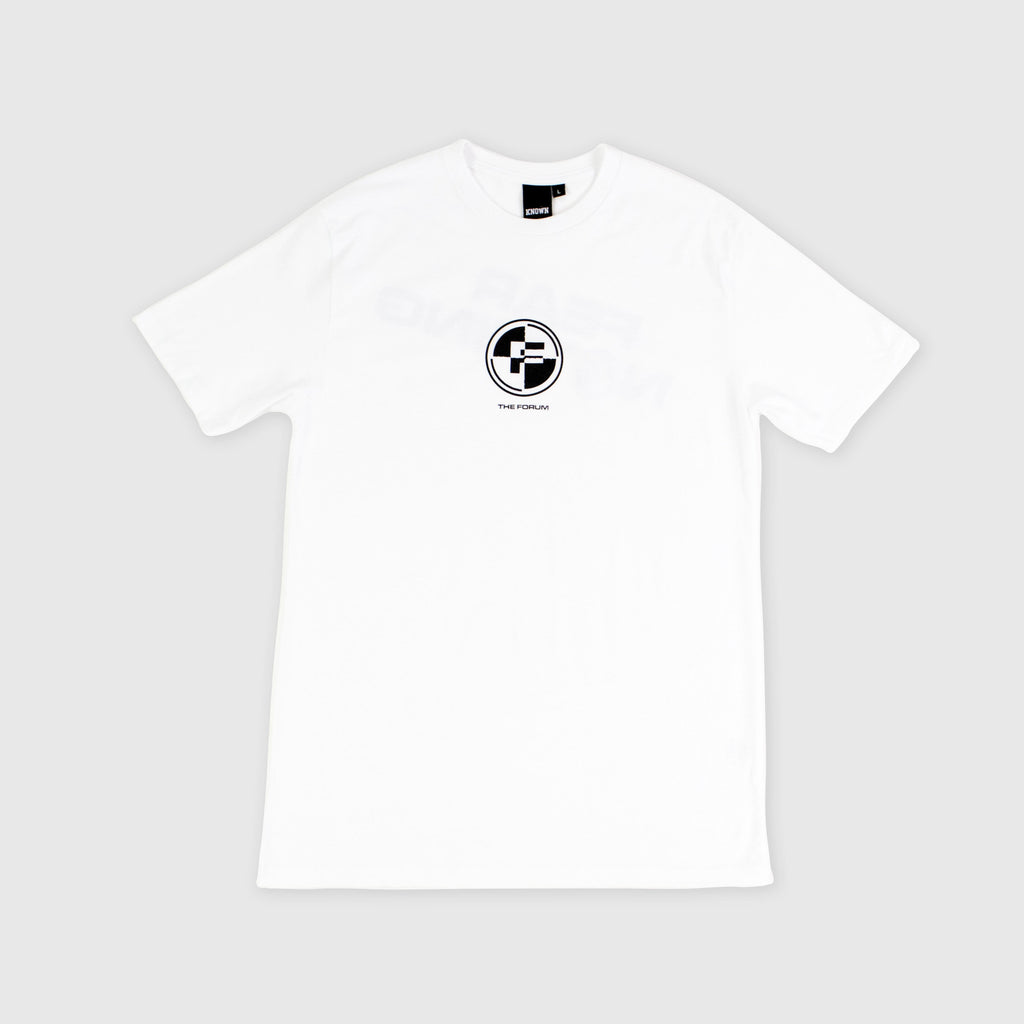 The Forum SS Fear Tee - WhiteFront