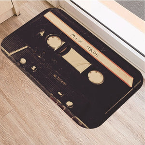 Music tape Anti-slip doormat Vacuuming kitchen bedroon bath Floor mats Home Entrance Rugs kids prayer mat 40*60cm DD0023