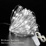 Load image into Gallery viewer, 1M 2M 3M 5M 10M Copper Wire LED String Lights Christmas Decorations for Home New Year Decoration Navidad 2020 New Year 2021.