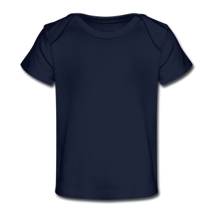 Organic Baby T-Shirt - dark navy