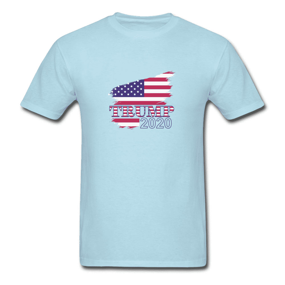 Unisex Classic T-Shirt = trump 2020 - powder blue
