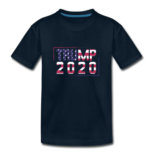 Kids' Premium T-Shirt = trump 2020 - deep navy