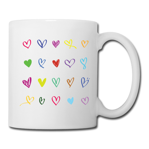 Coffee/Tea Mug = 20 hearts - white