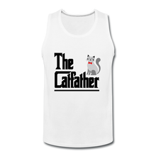 Men's Premium Tank = The Catfather - white