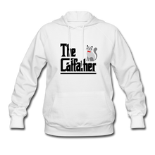Women's Hoodie = The Catfather - white
