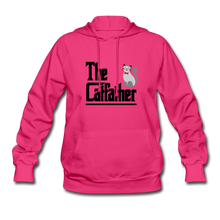 Women's Hoodie = The Catfather - fuchsia