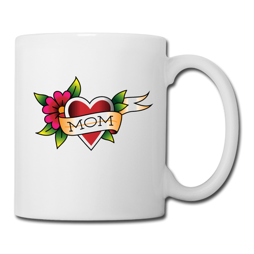 Coffee/Tea Mug Mom - white