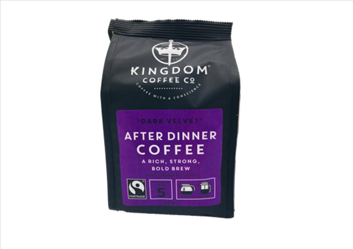 "Fairtrade ""Dark Velvet"" After Dinner Ground Coffee (227g)"