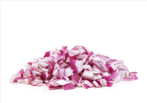 PREP ONION RED DICED