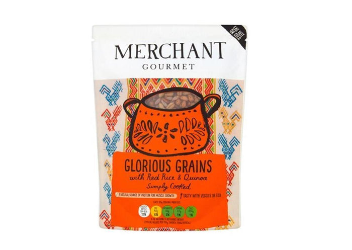 Merchant Gourmet - Glorious Grains with Red Rice & Quinoa (250g)