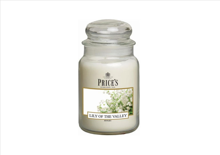Price's - Lily of the Valley Large Candle Jar