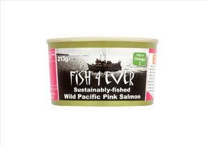 Fish4Ever - Wild Pacific Pink Salmon (213g)