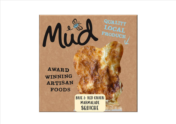 Mud - Squiche Red Onion Marmalade & Brie (250g)
