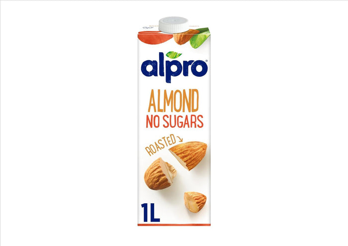 Alpro Roasted Almond No Sugars (1L Bottle)