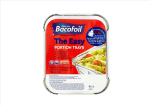 Bacofoil The Easy Portion Trays with Lids (6 Trays)