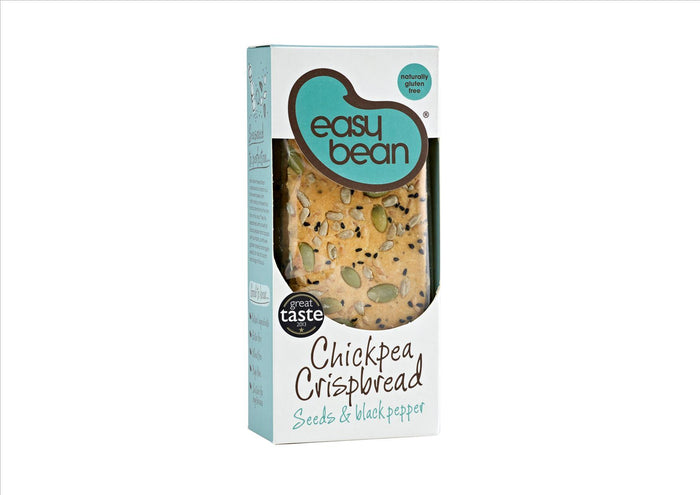 Easy Bean - Crisp Bread Seeds & Black Pepper - GF - (110g)