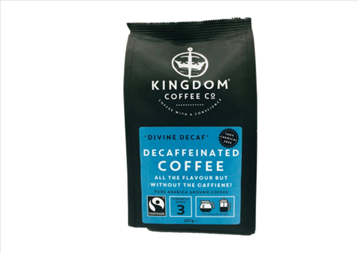 "Fairtrade ""Divine Decaf"" Decaffeinated Ground Coffee (227g)"