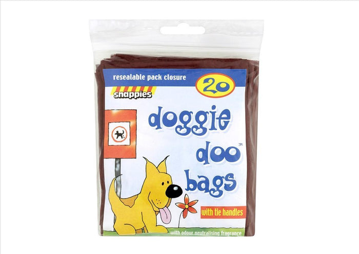Snappies Doggie Doo Bags (20 bags)