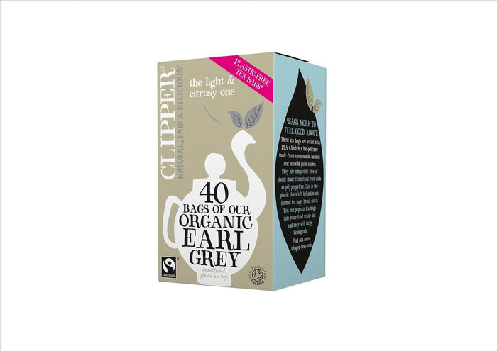 Organic Earl Grey Tea by Clipper (Box 40)