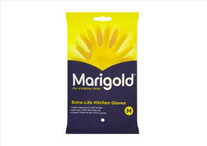 Marigold Yellow Household Gloves (Pair)