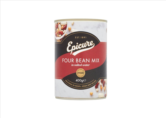 Epicure Four Bean Mix (400g)