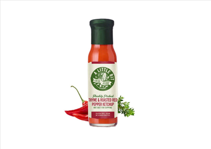 A Little Bit - Thyme & Roasted Red Pepper Ketchup (260g)