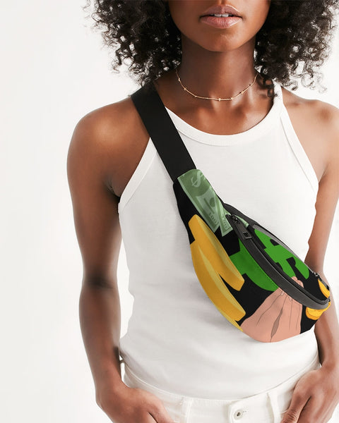 Get Money Crossbody Sling Bag