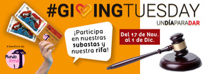 Vídeotutorial: Cómo pujar en la Subasta Solidaria por el Giving Tuesday